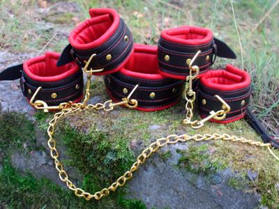 Комплект для сцепки черный с красным