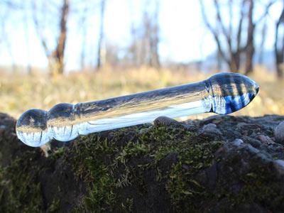 Дилдо стеклянный 200 мм
