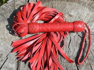 40 хвостов  красный