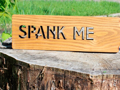 "Паддл ""SPANK ME"""