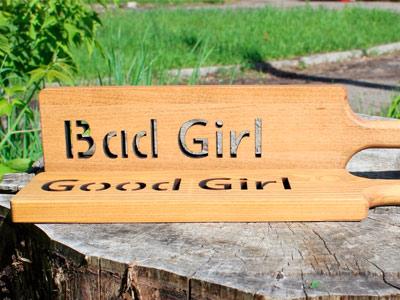 """Паддлы """"Good Girl"""" & """"Bad Girl"""""""