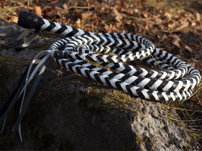 Снейк 3 метра бело-черный
