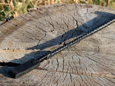 Стек плетеный черный 40 см
