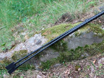 Стек плетеный черный 90 см